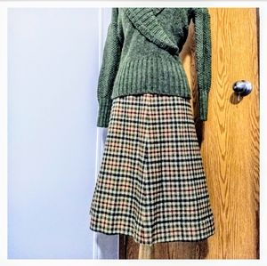 Pendleton A line wool skirt